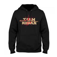 Team Negan Herren Kapuzenpullover Fan Hoodie Dead Walking T-W-D The Lucille Neu