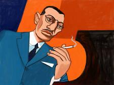 IGOR STRAVINSKY PRINT poster classical piano works cd fireworks symphony music