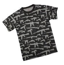 Rothco 66350 Vintage 'Guns' T-Shirt - Black
