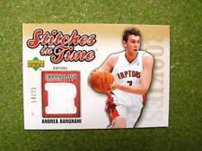 2006 Cronology Andrea Bargnani jersey card jsy Raptors