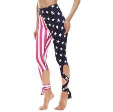 Bandage Yoga Legging USA Flag Printed Dancing legging S-XL Yoga Legging