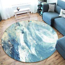 3D Abstract Ocean 2 Non Slip Rug Mat Room Mat Round Elegant  Photo Carpet UK