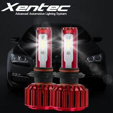 2Pcs 240W H7 LED Headlight Kit Car Hi Low Beam Bulbs 6000K White Instant Startup