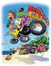 Dune Beach Buggy ATV CARTOON T-SHIRT #4202 Meyers Manx