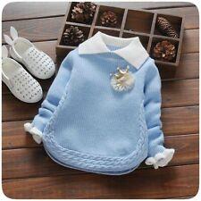 Baby Girl Sweater Spring Winter Children Casual Fashion Girls Sweaters Cartoon J