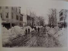 Blizzard of 1888 Graham Av @ Ainslie St Williamsburg Brooklyn  NYC Photo