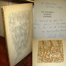 LE DIABLE PORTE PIERRE  Miracle de Marcilly  André Piot EO envoi de l'auteur !