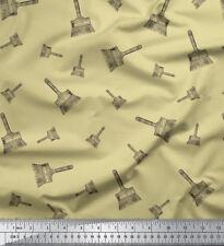Soimoi Fabric Paint Brush Hardware Fabric Prints By Yard - HW-510E