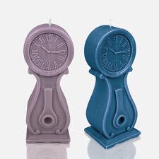 Designerkerze Kerze Geschenkidee Designkerze Deko Uhr versch. Farben 26cmx10cm