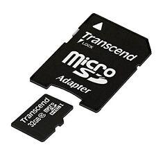 Transcend Carte Mémoire microSDXC 32 Go Classe 10 (Premium) TS32GUSDHC10