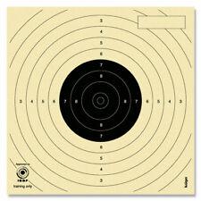 Luftpistolenscheibe/ Schießscheibe 14 x 14 cm/ Zielscheibe - versch. Abpackungen