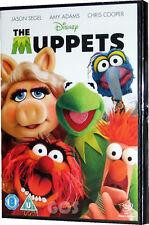 The Muppets Walt Disney Pixar Movie and Music Xmas Gift Kermit DVD New Sealed