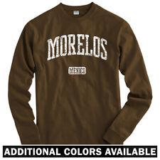 Morelos Mexico Long Sleeve T-shirt - LS Men S-4X - Gift Cuernavaca Pumas Mexican
