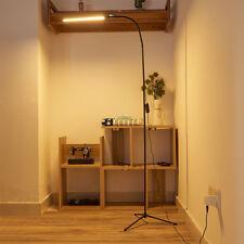 Aluminium Alloy Modern Floor LED Lamp Flexible Gooseneck Standing Reading Light