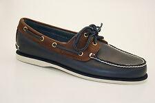 Timberland Classic 2-eye boat Shoes vela zapatos Deck zapatos caballero zapatos a16mj