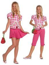 tweens ELEGANT MOMENTS strawberry SWEETIE shortcake COUNTRY farm GIRLS costume
