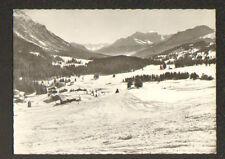 VALBELLA (SUISSE) im SKIGEBIET GEGEN OBERHALBSTEIN , VILLAS en hiver 1964