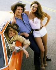 Dukes of Hazzard Catherine Bach Tom Wopat John Schneider Hot Pants Car Photo