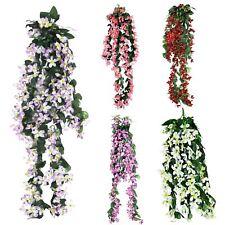 Artificial Stephanotis Pick - Trailing Flower Willow Garland Wisteria Artificial