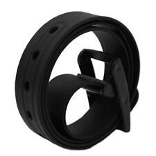 Plastic Buckle Waist Belt Strap Silicone Belt Belts Casual Belts Waistband DD