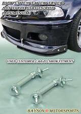 ACS-Style Carbon Front Lip Struts Rod Bar (Aluminum) Fits BMW E46 M3