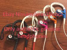Beats by Dr. Dre Powerbeats Wired Ear Hook In Ear Sport Headphones Rare Colors