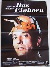 DAS EINHORN - Martin Walser, Peter Vogel - Filmplakat A1