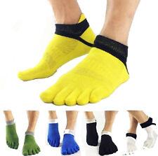 Chaussettes doigt cinq orteil socquette tricote Chaud Sock Noël Unisex --MO