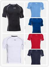 New Men's Under Armour UA HeatGear Armour Compression Tee Shirt 1257468