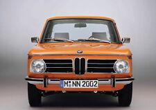 138717 BMW 2002 FRAMED CANVAS PRINT AU