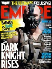 EMPIRE Magazine,The Dark Knight Rises,Batman,Bane,Christian Bale,Tom Hardy