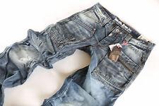 Timezone Herren Jeans Hose Clay TZ  3182  blau holly wash Neu Größe wählbar