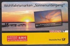 Bund MH 77 ** Wohlfahrt 2009 Sonnenuntergang 10 x 2717 selbstklebend