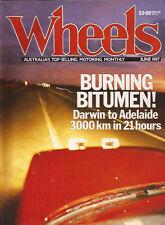 WHEELS Jun 87 Prelude Volvo 740 Turbo Charade Turbo Mazda 929 V6 Prelude 4WS Civ