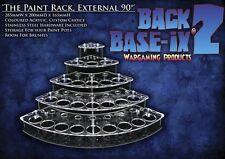 Paint Bottle Rack Organizer for Reaper Master 24 Pots Custom Color External Corn