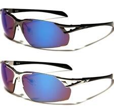 Gafas de Sol Deportes Diseñador Golf Pesca Senderismo Para Hombre Piloto De Metal Espejo señoras U