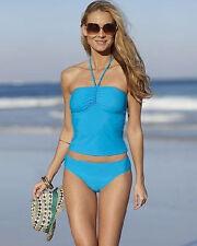Newport Two-Piece Tankini Swimsuit Bikini Set. Stunning in its simplicity.
