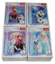 Trefl Disney 54 Mini Pieces x 4 boxes Kids Jigsaw Puzzle Frozen, Thomas, Minnie