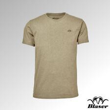 Blaser T-Shirt V Neck Beige Melange (118019-006/243)