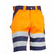 Dassy-Short VENNA orange / marine 300gr Warnschutz Berufshose kurze Hose Hosen