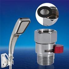 """Practical G1/2"""" Shower Head Flow Control Pressure Shut Off Valve Saving Water FM"""