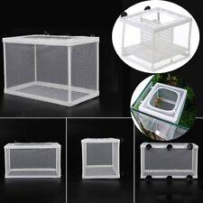 New Aquarium Incubator Breeder Fish Rear Trap Box Hatchery Reproduction Holder