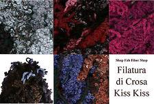 Filatura di Crosa Kiss Kiss Wool Blend 100g Yarn Color Choice Knit Crochet FS