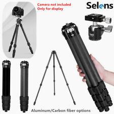 Selens Studio Photography 4 Section Aluminum/Carbon Fiber Tripod or Ball Head