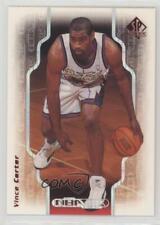 1998 SP Authentic NBA 2K 2K5 Vince Carter Toronto Raptors Rookie Basketball Card