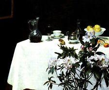 STILL LIFE WITH TABLE CORNER 1873 PAINTING BY HENRI DE FANTIN LATOUR REPRO