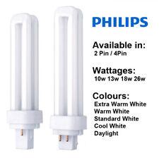 Philips PLC 2 PIN O 4 pines 10w 13w 18w 26w lámpara CFL - Lynx Dulux Biax D /