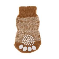 4 teil / satz Anti rutsch Haustier Hund Katze Socken Schuhe Stiefel Warme