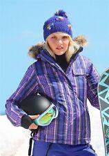 Only Schnee- und Winter-Jacke. Blau-kariert. NEU!!! KP 129,99 € SALE%%%