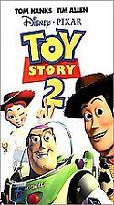 RARE: Toy Story 2 (VHS, 2000) Disney Pixar Excellent Condition